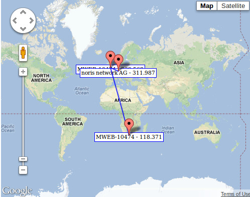 how to trace route to google win 10